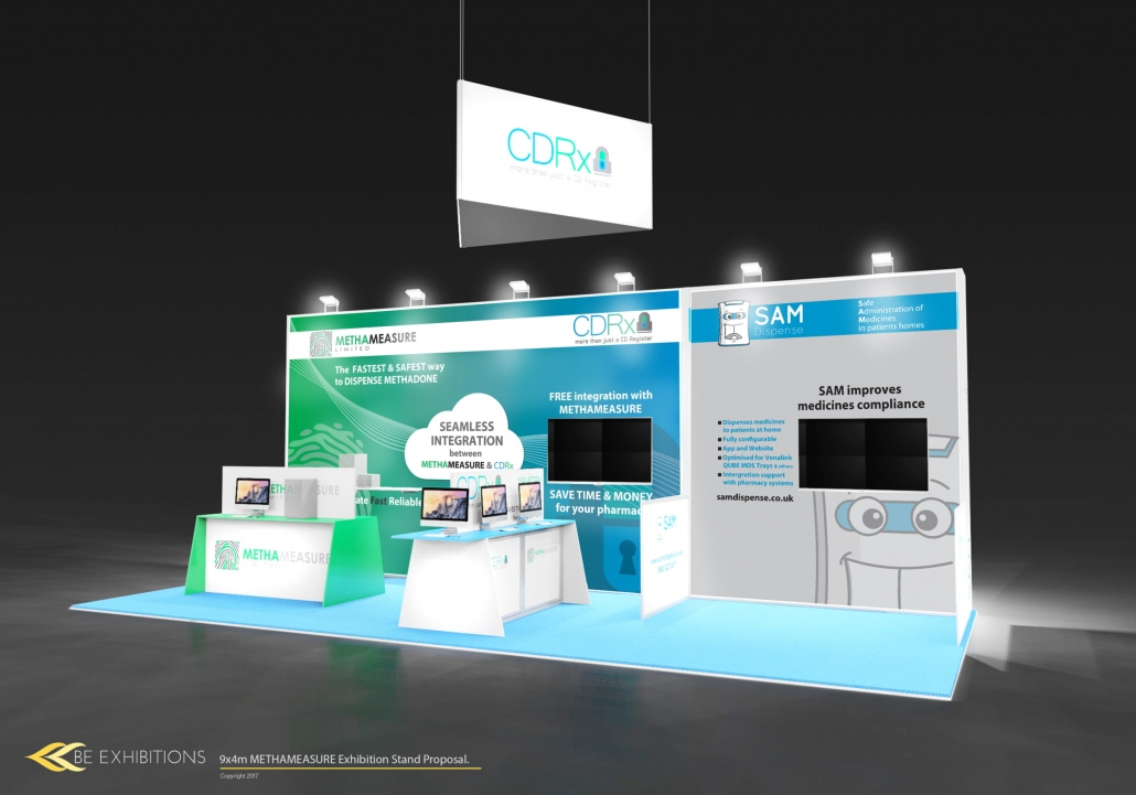 Exhibition Stand Proposal : Cityscape exhibition stand designer nucleus exhibitions